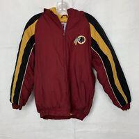 Vintage Logo Athletic Washington Redskins Winter Coat Youth L 14-16 Team NFL