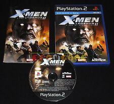 X-MEN LEGENDS II L'ERA DI APOCALISSE Ps2 Versione Italiana ••••• COMPLETO