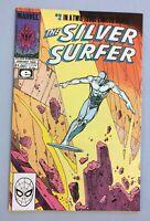 SILVER SURFER #2, PARABLE, MARVEL, EPIC COMICS, MOEBIUS, FN, COPPER AGE, 1989