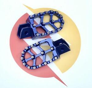 Sur-ron Segway CNC Red, Blue & Black - Ultimate Grip foot rests