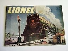 ORIGINAL 1947 LIONEL TRAIN CATALOG IN GOOD CONDITION no rear cover
