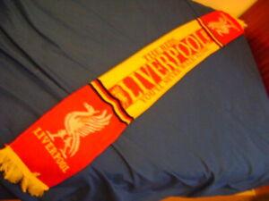 Liverpool FC scarf vintage 90'