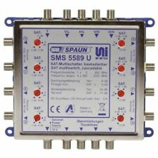 Spaun SMS 5589 U 2x Satellite System Cascade Multi-switch for 4x SAT IF Signals