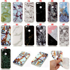 Colorful Marble Rubber Silicone Gel Soft TPU Back Case Cover For Google Pixel XL