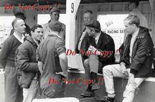 Jim Clark & Colin Chapman & Mike Spence Lotus F1 Portrait 1965 Photograph