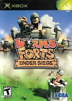 Xbox Game - Worms Forts: Under Siege