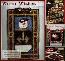 Warm Wishes,Santa And Friends,Crystal Poinsettias,Home For The Ho (Pattern Only)