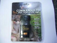 2x Buck Commander War Paint Stick Black Camo Face Paint