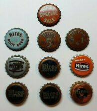 1940s 6 Bottle Carton 5¢ Sale HIRES ROOT BEER Cork Crown Tavern Trove