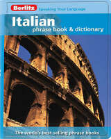 Berlitz: Italian Phrase Book & Dictionary by Berlitz Publishing Company...
