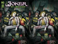 JOKER 80TH ANNIVERSARY - RYAN BROWN VARIANT A & B SET - PRESALE - NM