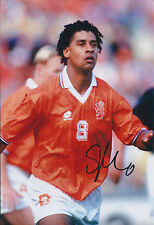 Frank RIJKAARD Signed 12x8 Photo AFTAL COA Autograph HOLLAND World Cup