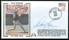 Gateway Cachet DAVE KINGMAN Oakland A's Athletics Auto 400 Home Runs 8/10/85
