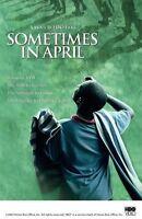Sometimes in April (DVD, 2005)BRAND NEW SEALED