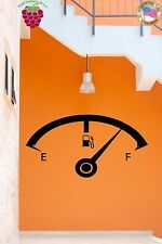 Wall Stickers Vinyl Decal Full Gas Tank Gasoline  Decor For Garage  (z1698)
