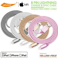 MFI Lightning Braided Cable 3 FT USB Charger For Apple iPhone XS/Max/XR/8/7/Plus