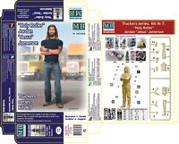 Master Box  Truckers series Jordan Jesus  Plastic model kit 1:24 Scale MAS24060