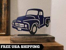 Chevrolet, Truck, Plaque, Automobile, Transportation, Kid's Room, Man Cave, Blue