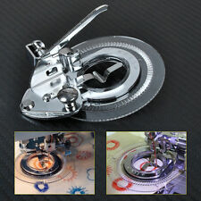 Flower Stitch Presser Foot Circle fit for Low Shank Sewing Janome Brother Singer