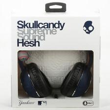 Skullcandy Hesh 2 Over-Ear Stereo Headphones w/Mic MLB New York NY Yankee Blue