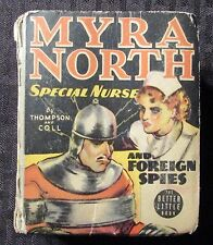 1938 MYRA NORTH Special Nurse #1497 Big Little Book Whitman GD+ 2.5