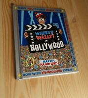 WHERE'S WALLY IN HOLLYWOOD Where's Waldo? #4 Children's PICTURE BOOK Puzzles HC