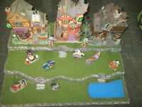 Halloween Village Display Platform Base H51 For Lemax Dept 56 Dickens + More