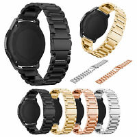 22mm Stainless Steel Strap Band For Samsung Gear S3 Frontier & Classic Watch