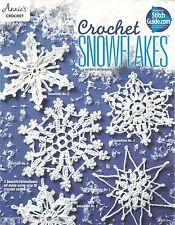 Crochet Snowflakes Annie's Attic Lucille LaFLamme Instruction Patterns NEW