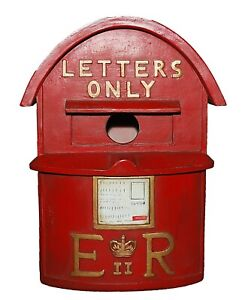 Vivid Arts Red Letter Mail Box Birdhouse And Feeder X-Large XBC-LTBF-D