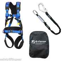 G-Force P52 Premium Scaffolders Height Safety Fall Protection Harness Kit M-XL