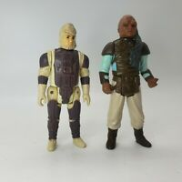 Vintage Star Wars Dengar 1980 Weequay 1983 Action Figure Lot of 2