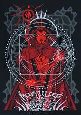 MELVINS / SLEEP Los Angeles (night 2) 2017 silkscreened poster by Malleus