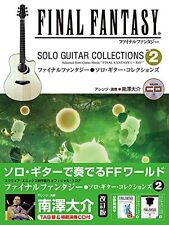 Final Fantasy Solo Guitar Collections 2 w/CD TAB Sheet Music Score Book Japanese