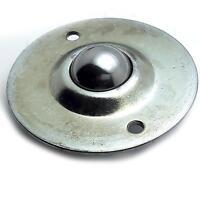 "US Stock 2pcs Dia 1"" Ball Metal Transfer Bearing Unit Conveyor Roller CY-25B"