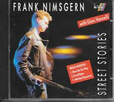 FRANK NIMSGERN & GINO VANNELLI - Street stories CD SINGLE 3TR Germany 1992