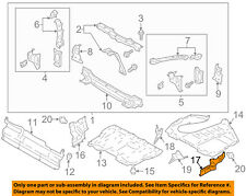 Scion TOYOTA OEM FR-S Splash Shield-Under Engine Side Cover Left SU00301385
