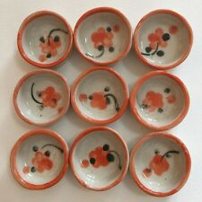 9 Pcs. Dollhouse Miniature Ceramic Food Supply Décor Cute Bowl Dish Plate
