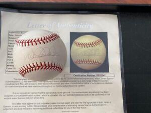 DEREK JETER Signed Official Major League Baseball - FULL JSA LOA - Yankees - HOF