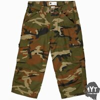 Mens Cargo Army Shorts Camo Casual Work Combat Camouflage Cotton Half Pant
