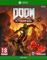 Doom Eternal Microsoft Xbox Series X Xbox One X S Game New & Sealed