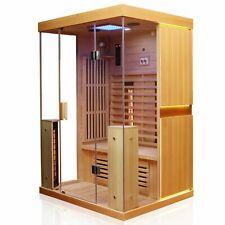 Infrarotkabine Infrarotsauna Wärmekabine Saunakabine Sauna 2 Person Vollspektrum