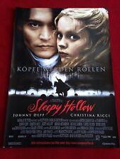 Sleepy Hollow Kinoplakat Poster A1, Johnny Depp, Tim Burton, Christina Ricci