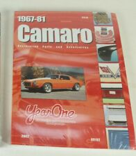 Year One: 1967-81 Firebird Restoration/Parts Book NEW FACTORY SEALED