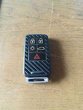 Carbon Schwarz Glanz Folie Dekor  Schlüssel Volvo D5 S80 XC60 XC70 V70 5 Tasten