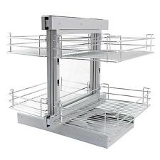 Kitchen Baskets Pull Out Slide Out Wire Storage  800 - 900mm Right Hand