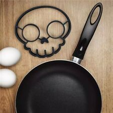 Funny Omelettes Skull Egg Rings Fried Silicone Cooking Shaper Non-stick Pancake