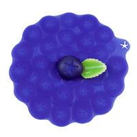 Charles Viancin  6 in. W Blue  Blueberry Lid