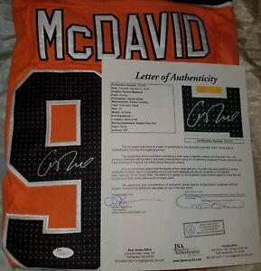 Connor McDavid Signed New  NHL Jersey Size XL. JSA FULL LETTER