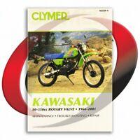 1976-1985 Kawasaki KE125 Repair Manual Clymer M350-9 Service Shop Garage